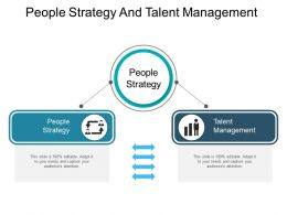 People Strategy And Talent Management