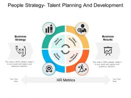 People Strategy Talent Planning And Development