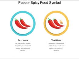 Pepper Spicy Food Symbol