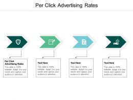 Per Click Advertising Rates Ppt Powerpoint Presentation Ideas Guide Cpb