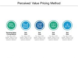 Perceived Value Pricing Method Ppt Powerpoint Presentation Outline Graphics Design Cpb