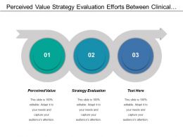 Perceived Value Strategy Evaluation Efforts Between Clinical Documentation
