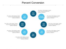 Percent Conversion Ppt Powerpoint Presentation Infographic Template Cpb