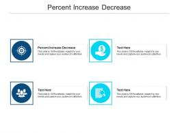 Percent Increase Decrease Ppt Powerpoint Presentation Show Graphics Design Cpb