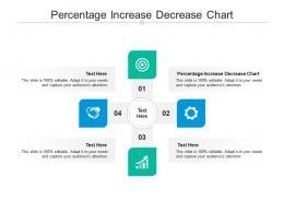 Percentage Increase Decrease Chart Ppt Powerpoint Presentation Model Elements Cpb