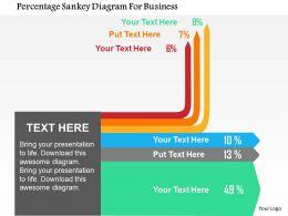 percentage_sankey_diagram_for_business_flat_powerpoint_design_Slide01