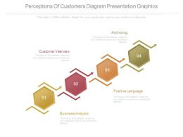 Perceptions Of Customers Diagram Presentation Graphics