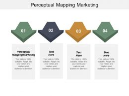 Perceptual Mapping Marketing Ppt Powerpoint Presentation Infographic Template Influencers Cpb