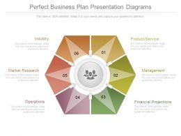 Perfect Business Plan Presentation Diagrams