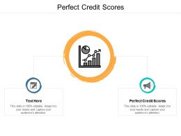 Perfect Credit Scores Ppt Powerpoint Presentation Ideas Slideshow Cpb