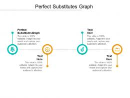 Perfect Substitutes Graph Ppt Powerpoint Presentation Pictures Graphics Cpb
