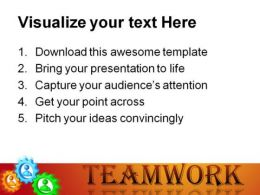 Perfect Teamwork PowerPoint Background And Template 1210  Presentation Themes and Graphics Slide03