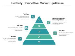 Perfectly Competitive Market Equilibrium Ppt Powerpoint Presentation Infographics Professional Cpb