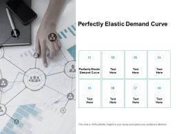 Perfectly Elastic Demand Curve Ppt Powerpoint Presentation Inspiration Cpb