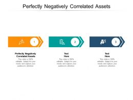 Perfectly Negatively Correlated Assets Ppt Powerpoint Presentation Infographic Template Backgrounds Cpb