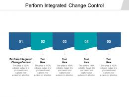 Perform Integrated Change Control Ppt Powerpoint Presentation Outline Rules Cpb