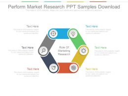 Perform Market Research Ppt Samples Download