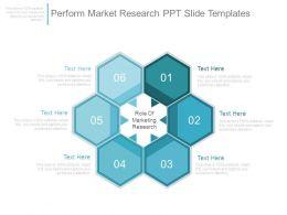 Perform Market Research Ppt Slide Templates