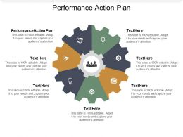 Performance Action Plan Ppt Powerpoint Presentation Icon Professional Cpb