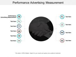 Performance Advertising Measurement Ppt Powerpoint Presentation File Example Introduction Cpb