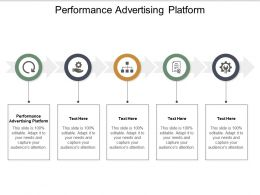 Performance Advertising Platform Ppt Powerpoint Presentation Background Designs Cpb