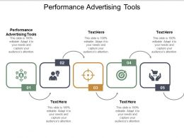 Performance Advertising Tools Ppt Powerpoint Presentation Pictures Graphics Cpb