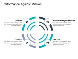 Performance Against Mission Ppt Powerpoint Presentation Icon Slide Download Cpb