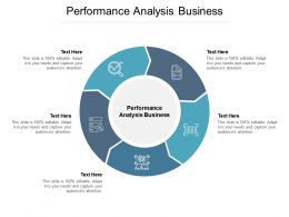 Performance Analysis Business Ppt Powerpoint Presentation Portfolio Clipart Cpb