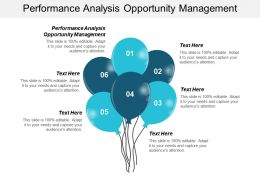 Performance Analysis Opportunity Management Ppt Powerpoint Presentation Infographics Vector Cpb