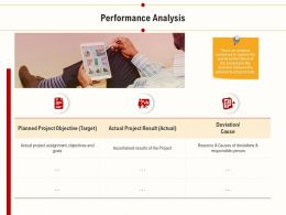 Performance Analysis Project Result Ppt Powerpoint Presentation Summary