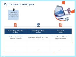 Performance Analysis Result Ppt Powerpoint Presentation Pictures Samples