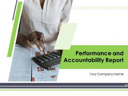 Performance And Accountability Report Powerpoint Presentation Slides