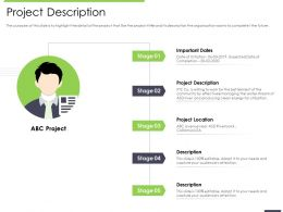 Performance And Accountability Report Project Description Location Ppts Influencers