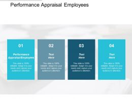 Performance Appraisal Employees Ppt Powerpoint Presentation Pictures Smartart Cpb