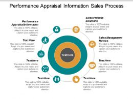Performance Appraisal Information Sales Process Solutions Sales Management Metrics Cpb