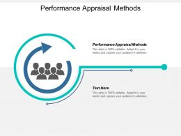 Performance Appraisal Methods Ppt Powerpoint Presentation File Slide Portrait Cpb