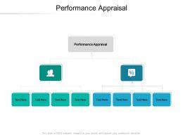 Performance Appraisal Ppt Powerpoint Presentation Ideas Inspiration Cpb