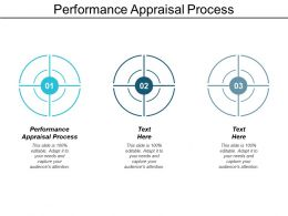 Performance Appraisal Process Ppt Powerpoint Presentation Model Slide Download Cpb