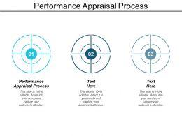 Performance Appraisal Process Ppt Powerpoint Presentation Model Slide Download Cpb