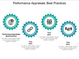 Performance Appraisals Best Practices Ppt Powerpoint Presentation Layouts Demonstration Cpb