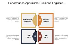 Performance Appraisals Business Logistics Personnel Management Organizational Communication Cpb
