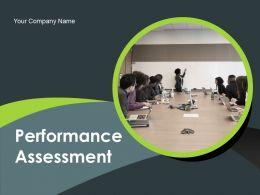 Performance Assessment Powerpoint Presentation Slides