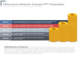 Performance Attribution Example Ppt Presentation