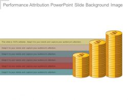 Performance Attribution Powerpoint Slide Background Image