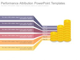 Performance Attribution Powerpoint Templates