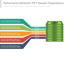 Performance Attribution Ppt Sample Presentations