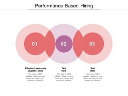 Performance Based Hiring Ppt Powerpoint Presentation Summary Layout Cpb
