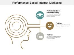 Performance Based Internet Marketing Ppt Powerpoint Presentation Icon Designs Cpb