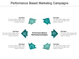 Performance Based Marketing Campaigns Ppt Powerpoint Presentation Slides Skills Cpb