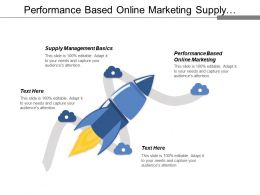Performance Based Online Marketing Supply Management Basics Business Strategy Cpb